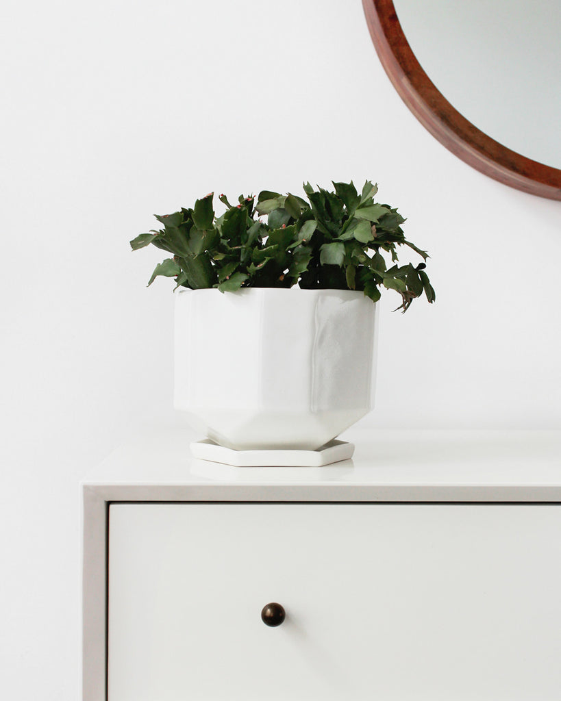 Large Riveted Planter