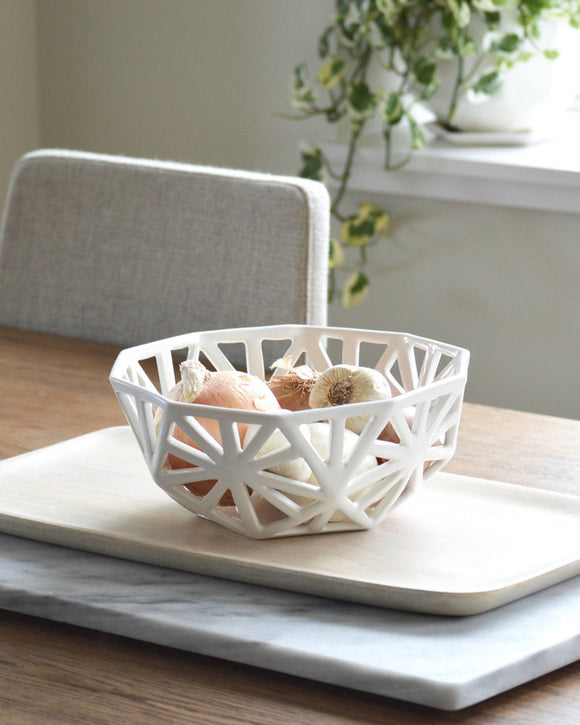 Geodesic Countertop Fruit Bowl