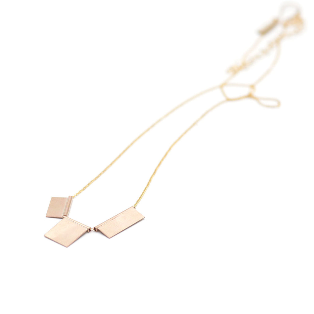 Geometric Tile Necklace | Favor Jewelry