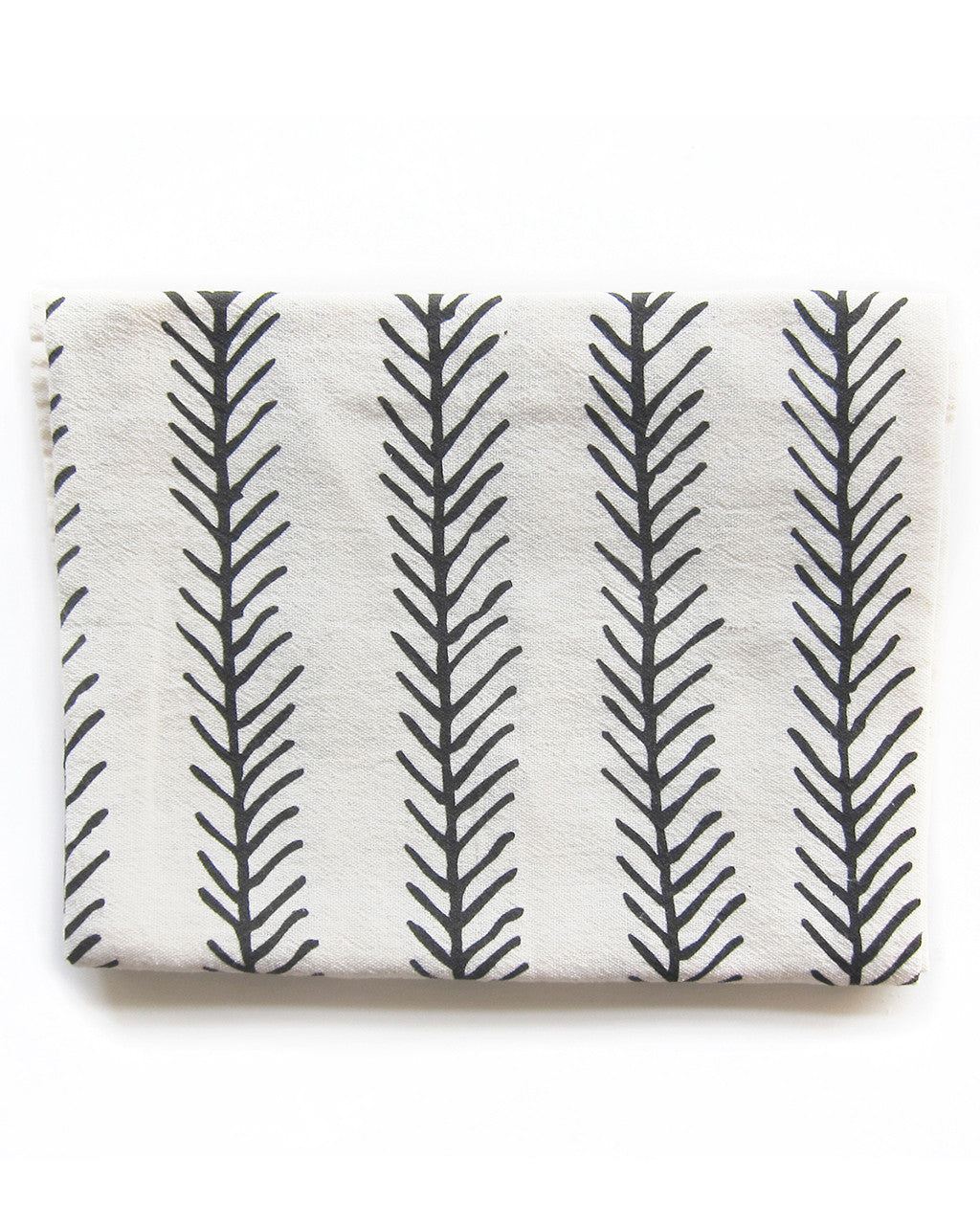 Thatch & Feather Patterned Kitchen Towel | Little Korboose