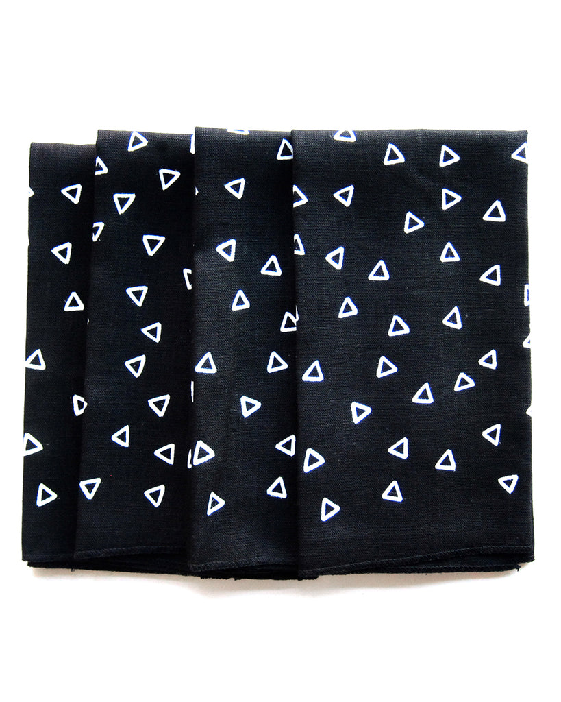 Loft Studios Sketch Triangles Napkins Set of 4 | Loft Studios