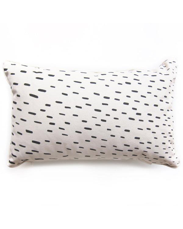 "Sideways Rain 20""x12"" Pillow 