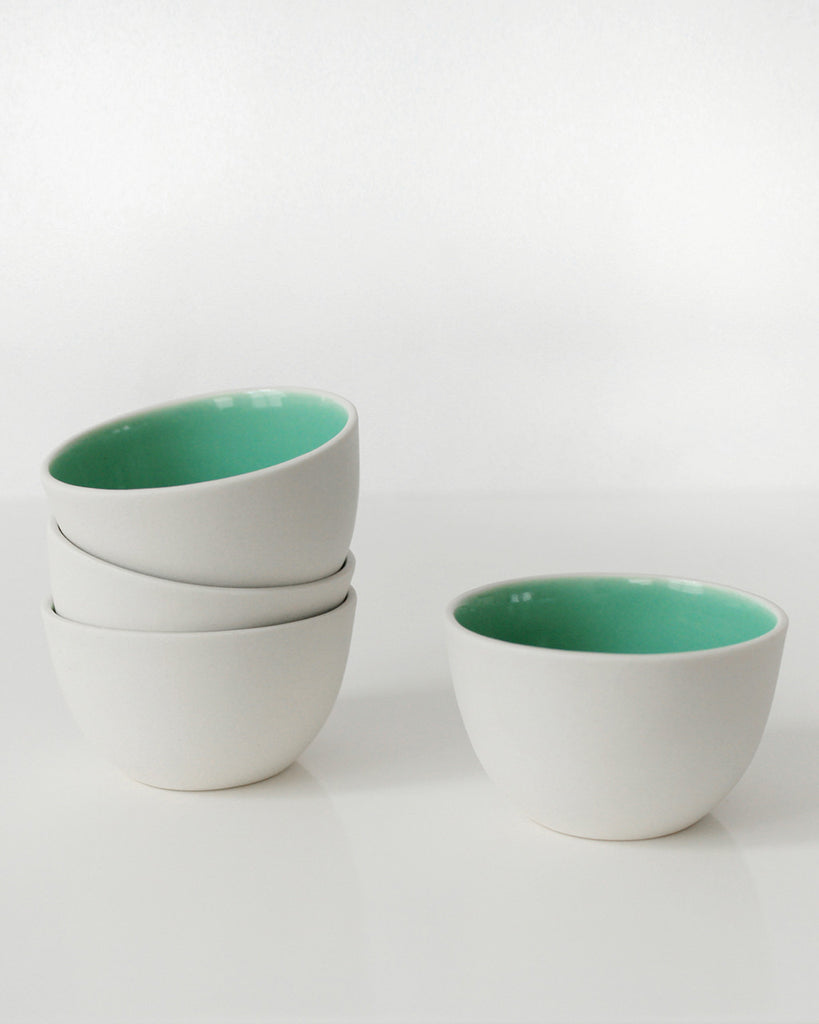 Pigeon Toe Mint Green Stacking Thimble Cup Set - Pigeon Toe
