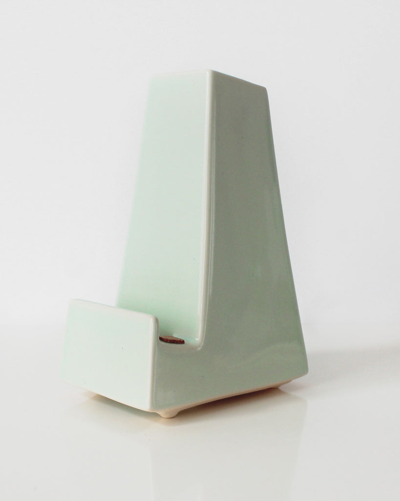 Mint Vase Phone Dock | Stak Ceramics