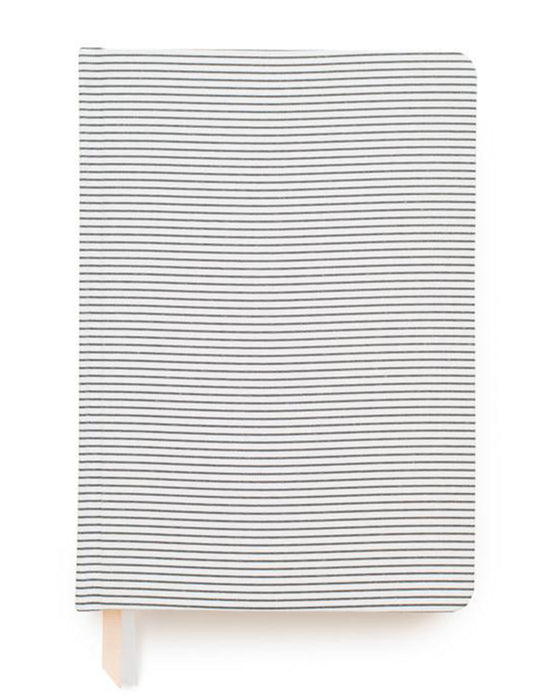 Pinstripe Tailored Journal