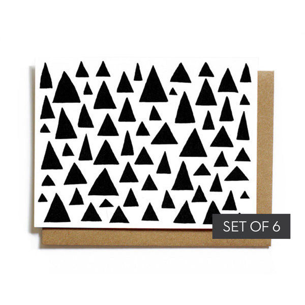 Worthwhile Paper Triangles Notecards Set - Worthwhile Paper