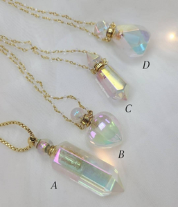 Angel Aura Essential Oil Necklace - choose your style