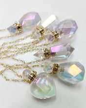 Load image into Gallery viewer, Angel Aura Essential Oil Bottle Necklace | choose your style
