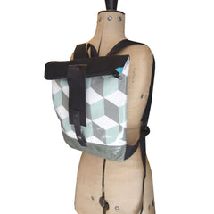 grey/ green LUPITA BACKPACK