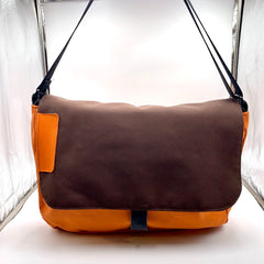 Orange Harajuku computer bag