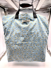 Sky blue and yellow flowers SHOPPER