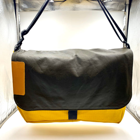 Yellow Harajuku computer bag