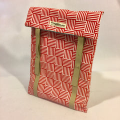 Red and white Laptop Sleeve