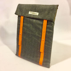 Pinstripes Grey Laptop Sleeve