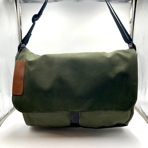 Green Harajuku computer bag