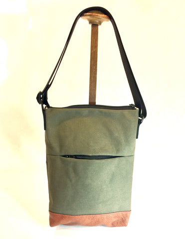 Khaki green canvas TARPY