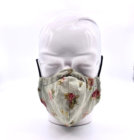 Green roses mask