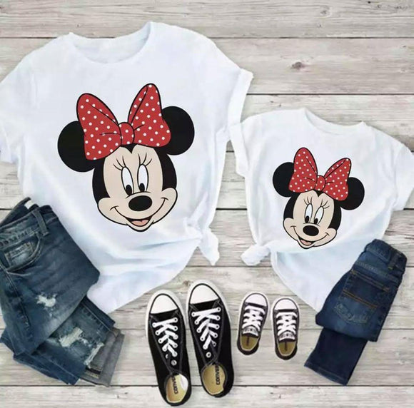 Set Tricouri Mama si Copilul Minnie Sweet #6