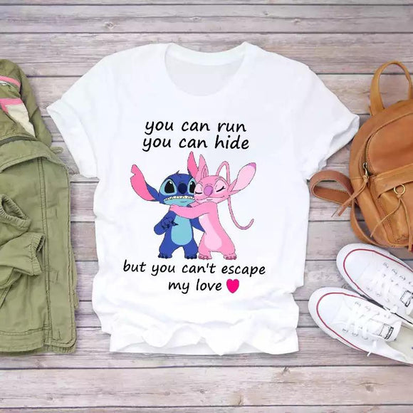 Tricou alb Free Hugs You Can't Escape