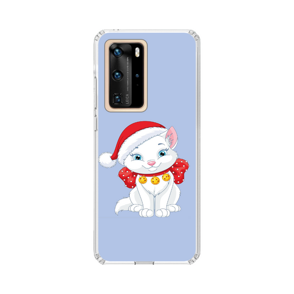 Husa Huawei de Craciun Christmas Cat