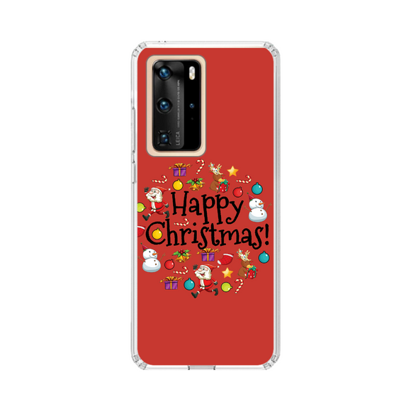 Husa Huawei de Craciun Happy Christmas
