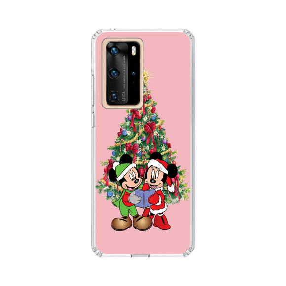 Husa Huawei de Craciun Minnie and Mickey