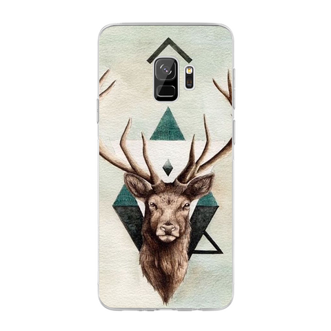 Husa Samsung Galaxy S9 Abstract Deer - inKing.ro