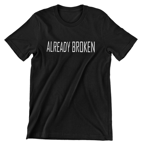 Tricou negru Peaky Blinders Already Broken