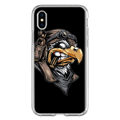 Husa iPhone XS MAX Army Eagle - inKing.ro