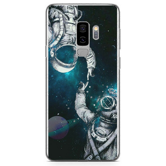 Husa Samsung Galaxy S9 Plus Astronaut and Scubadiver - inKing.ro