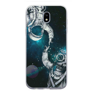 Husa Samsung Galaxy J7 2017 Astronaut and Scubadiver - inKing.ro