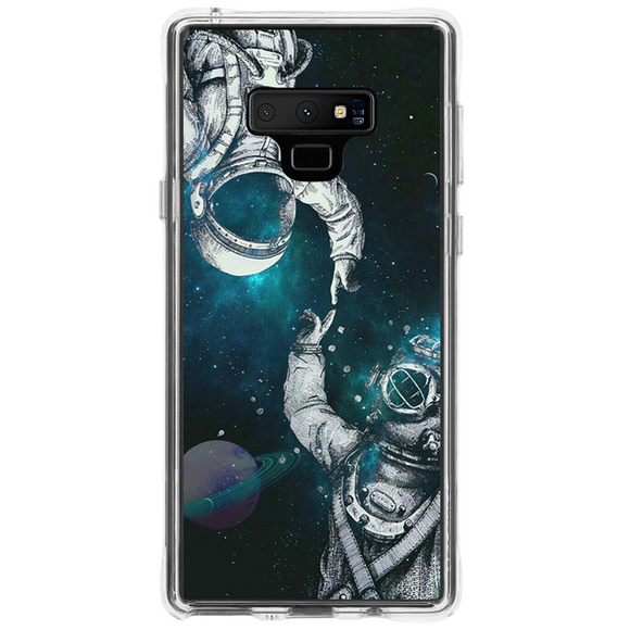 Husa Samsung Galaxy Note 9 Astronaut and Scubadiver - inKing.ro