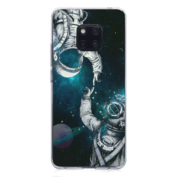 Husa Huawei Mate 20 PRO Astronaut and Scubadiver, Huse, inKing.ro, inKing.ro