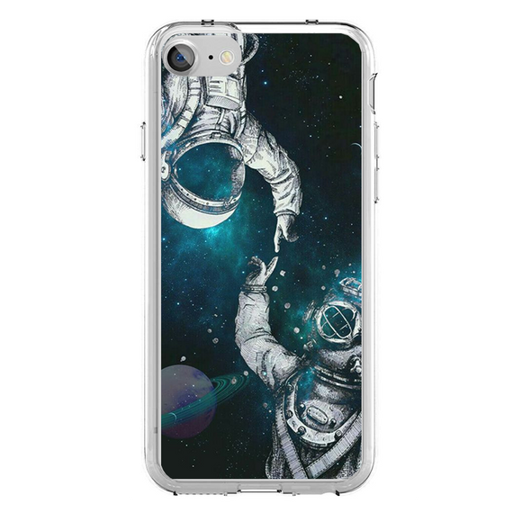 Husa iPhone 7 Astronaut Surfing