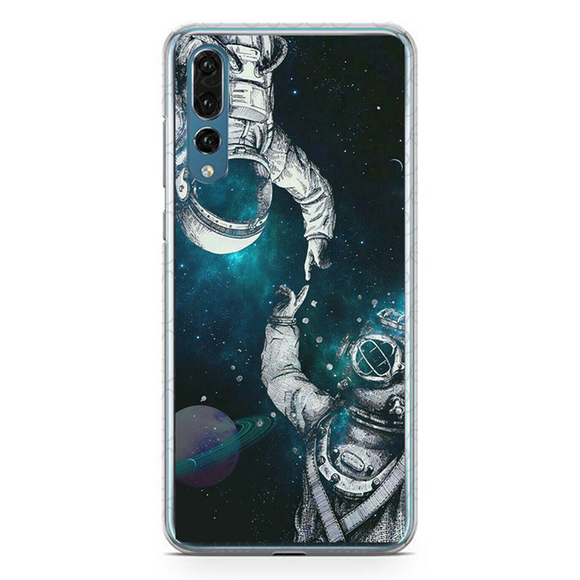 Husa Huawei P20 Astronaut and Scubadiver, Huse, inKing.ro, inKing.ro