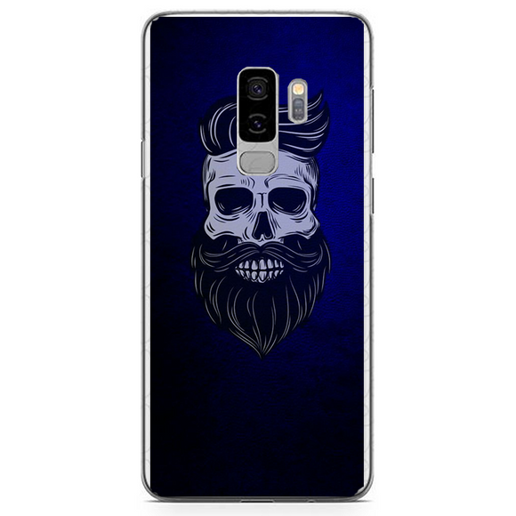Husa Samsung Galaxy S9 Plus Barber Skull - inKing.ro