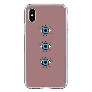 Husa iPhone X Blue Eyes