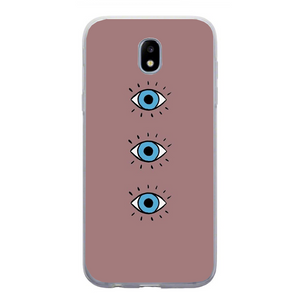 Husa Samsung Galaxy J7 2017 Blue Eyes - inKing.ro