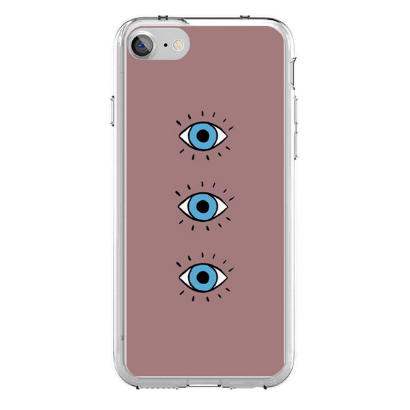 Husa iPhone 7 Blue Eyes