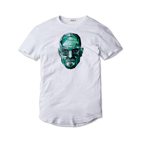 Tricou alb Breaking Bad