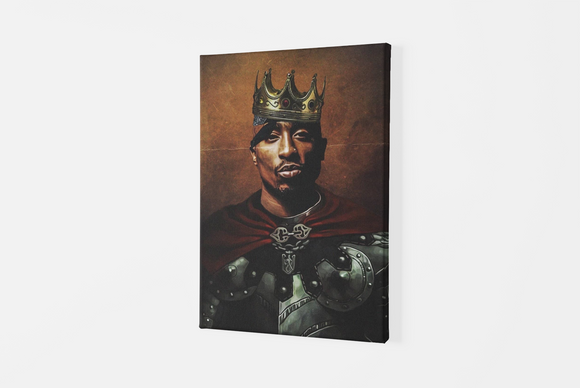 Tablou Canvas King 2PAC