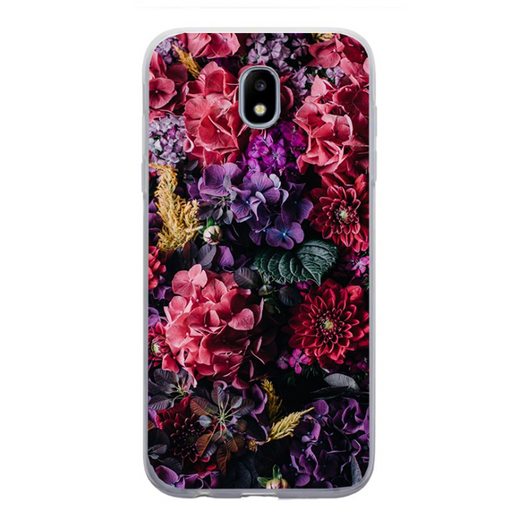 Husa Samsung Galaxy J5 2017 Colorfull Flowers - inKing.ro