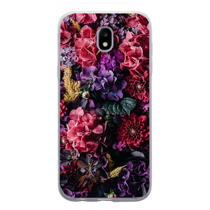 Husa Samsung Galaxy J7 2017 Colorfull Flowers - inKing.ro