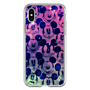 Husa iPhone X Crazy Mickey
