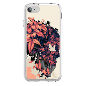 Husa iPhone 7 Flower Skull