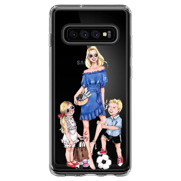 HUSA SAMSUNG TRANSPARENTA FUN FAMILY