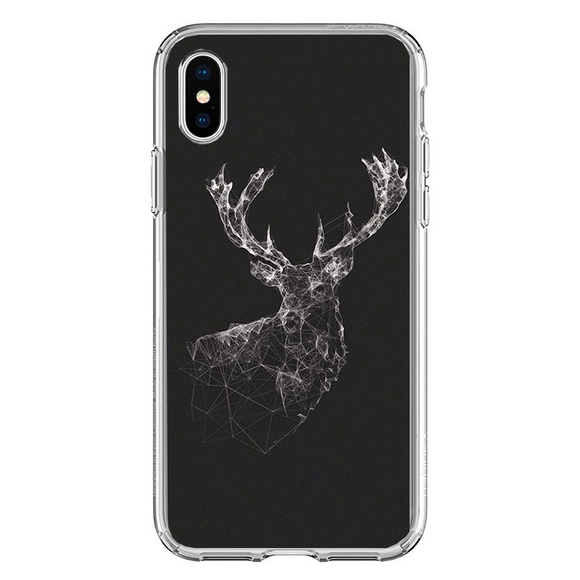 Husa iPhone X Galaxy Deer