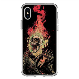 Husa iPhone X Ghost Rider