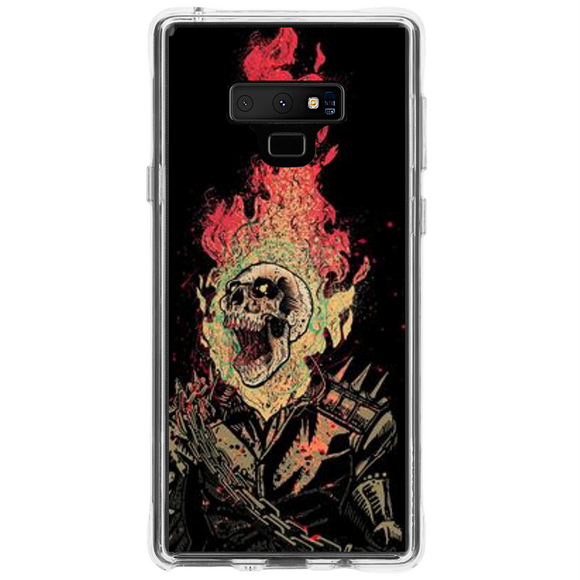 Husa Samsung Galaxy Note 9 Ghost Rider - inKing.ro