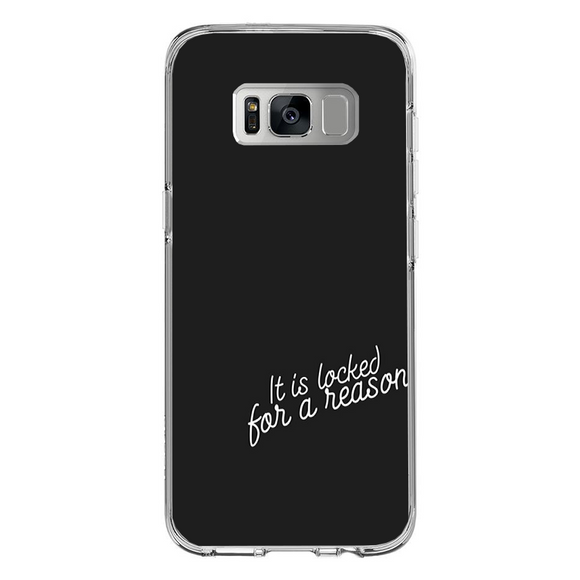 Husa Samsung Galaxy S8 Plus Locked for a reason - inKing.ro